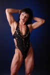 Girl with muscle - Leah