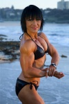 Girl with muscle - christine zadel