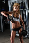 Girl with muscle - Leanne Chait