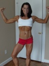 Girl with muscle - Kathy Laucius