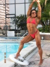 Girl with muscle - tonia moore