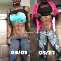 Girl with muscle - Shanique Grant