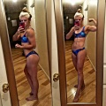 Girl with muscle - Regina Crosco