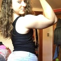 Girl with muscle - Michelle Gavin