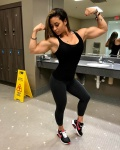 Girl with muscle - Jessica Rodriguez
