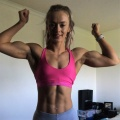 Girl with muscle - Kayleigh Clarke