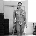 Girl with muscle - Sandra Grajales