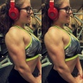 Girl with muscle - eve (eveconquer)