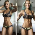 Girl with muscle - Alicia Marie Ballanger