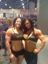 Girl with muscle - Michelle Cummings, Nicole Ball
