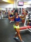 Girl with muscle - Sarah