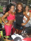 Girl with muscle - Carol Medina (L) - Sandra Tacza (R)