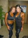 Girl with muscle - Sandra Tacza (L) - Marta Aguiar (R)