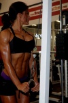 Girl with muscle - Lacey