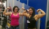 Girl with muscle - Tara Brandt (L) Hayley McNeff (right)