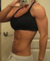 Girl with muscle - Lacey Lynn