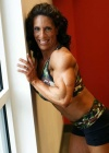Girl with muscle - Gail Auerbach