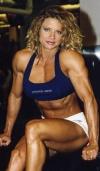 Girl with muscle - Rebekka Armstrong
