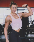 Girl with muscle - Connie Slyziut