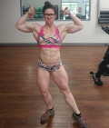 Girl with muscle - Rachael Chaskey