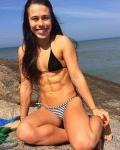 Girl with muscle - Carolyne Nazário Corrêa
