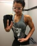 Girl with muscle - Jana Beeckman