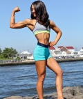 Girl with muscle - Christa Caccese