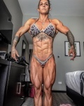 Girl with muscle - hulda lopez