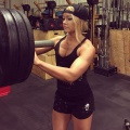 Girl with muscle - Bonnie Schroeder