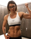 Girl with muscle - Katy Marquis