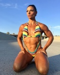 Girl with muscle - Deidre Pagnanelli