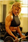 Girl with muscle - rita gargyan