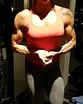 Girl with muscle - soraya alvarez