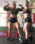 Girl with muscle - Kristina Nicole Mendoza / yanet sevares