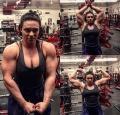 Girl with muscle - Tamara Kostadinova