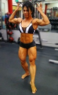 Girl with muscle - Sheikha Nguyen