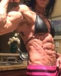 Girl with muscle - Kelsey Haas
