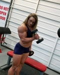 Girl with muscle - Paige Sandgren
