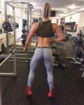 Girl with muscle - Adriana Sojková