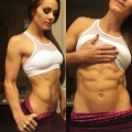 Girl with muscle - Hannah Bower