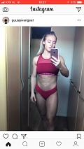 Girl with muscle - Guusje Van Geel