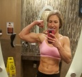 Girl with muscle - Kayla Woods
