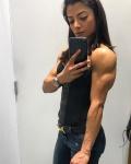 Girl with muscle - Shiblin Rasheed