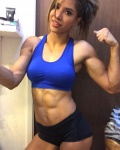 Girl with muscle - Kayli Phillips