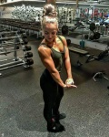 Girl with muscle - Stefanie Jenkins