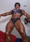 Girl with muscle - Carmella Cureton