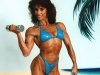 Girl with muscle - Brigitte Crepieux