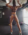 Girl with muscle - BJ Brunton