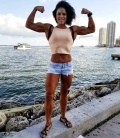 Girl with muscle - Brittany Fields