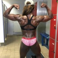 Girl with muscle - Julia Hunter